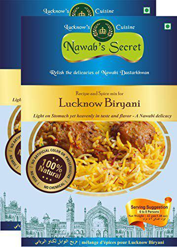 Nawab's Secret Lucknows Biryani Masala, Pack of 2