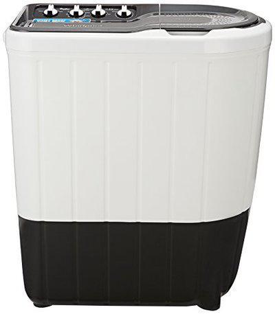 Whirlpool 6.5 kg Semi-Automatic Top Loading Washing Machine (SUPERB ATOM 6.5, Dark Grey, TurboScrub Technology)