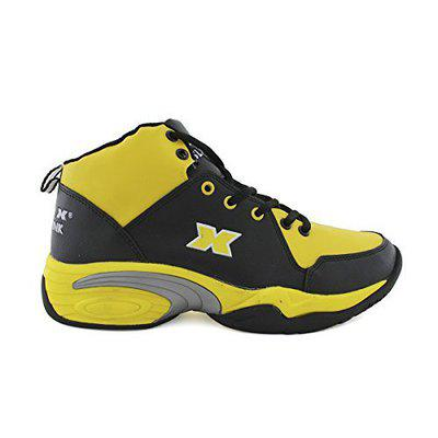 Vector X Slam Dunk Basketball Shoes, UK 10 (Yellow)