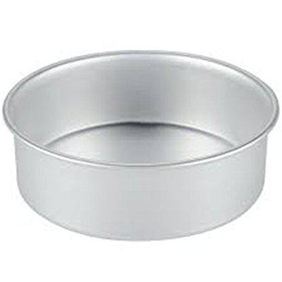 Rinkle Trendz Aluminium Round Cake Mould Cake Pan Cake Tin 7 Inches for Baking 750 Grams for Oven