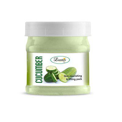 Luster Cucumber Skin Calming Face Pack (Paraben & Sulfate Free)-500 g