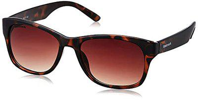 Fastrack UV Protected Oval Men's Sunglasses (PC001BR23|54|Brown Color