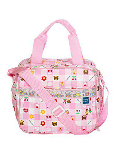 Mee Mee Multifunctional Diaper Bag with Multiple Pockets (Pink)