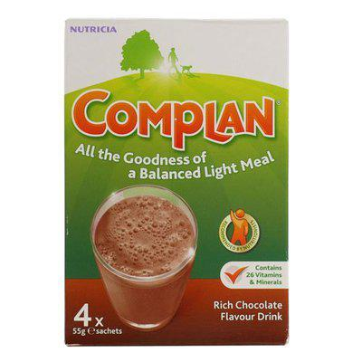 Complan Complan Chocolate Sachest - Pack of 4 by Heinz