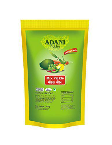 ADANI SPICES Mixed Pickle (500 g)