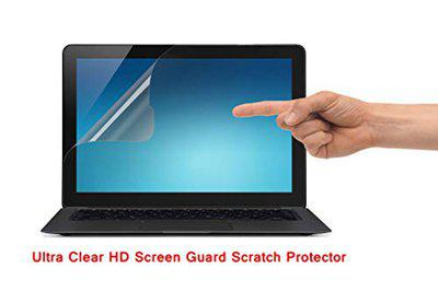 Saco Ultra Clear Glossy HD Screen Guard Scratch Protector for Lenovo Ideapad 500-15ISK Notebook (80NT00L6IN)