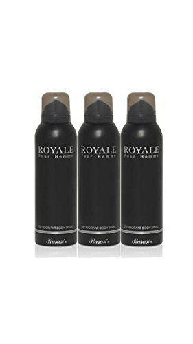 Rasasi Royale Pour Homme Deodorant (Set Of 3) - 200 Ml Each