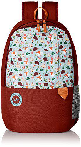 Skybags Mario 27 Ltrs Brown Casual Backpack (BPMAR2BRN)