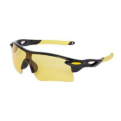 Vast Combo Of 2 All Day And Night Vision Biking Driving And Sports Unisex Sunglasses 9181C1B23C2BLUE SHADED