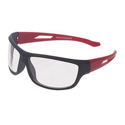 Vast UV Protected Wrap Around Unisex Sunglasses (RCK 60 Transparent)