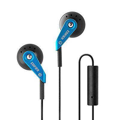 Edifier P185 Headphones with Mic (Blue)
