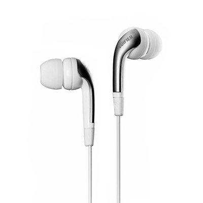Edifier H220 in-Ear Headphones for Samsung, Apple, LG, HTC etc - White