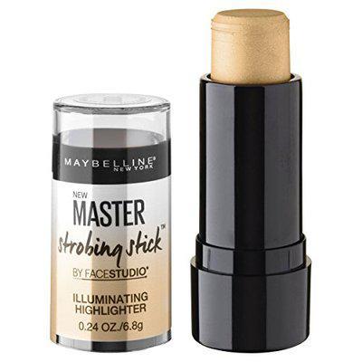 Maybelline New York Master Strobing Stick Illuminating Highlighter, Medium Nude Glow, 0.24 oz