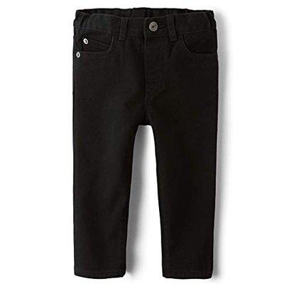 The Children's Place Boy's Skinny Fit Jeans (2044126_Black DNM_5-6 Years)