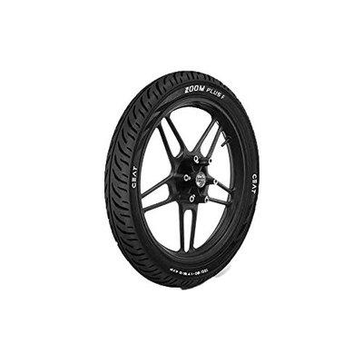 Ceat Zoom Plus F P100/80-17 Tubeless Bike Tyre, Front