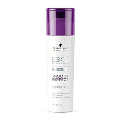 Schwarzkopf Professional BC Hair Therapy Smooth Perfect Conditioner 200ml With Free Ayur Sunscreen 50 ml