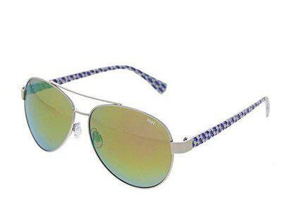 VAST UV Protection Aviator Men's and Women's Sunglasses (Gold)