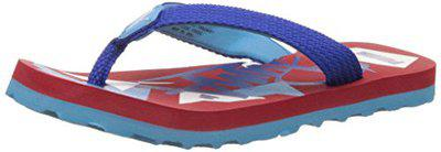 Puma Boys Wave JR II DP High Risk Red, Surf The Web Blue and Atoll White Flip Flops (11 Kids UK/India) (28 EU) (18924601)