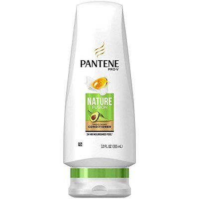 Pantene Nature Fusion Smoothing Conditioner With Avocado Oil, 12 oz (Pack of 4)