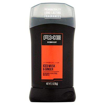 axe deodorant adrenaline iced musk and ginger 3 ounce