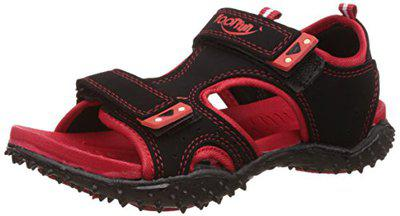 Liberty Footfun (from Unisex Black Fashion Sandals - 10 Kids UK/India (28 EU) (8074022100280)