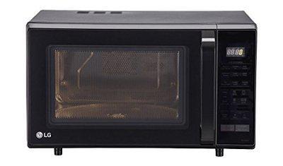 LG 28 L Convection Microwave Oven (MC2846BLT, Black)