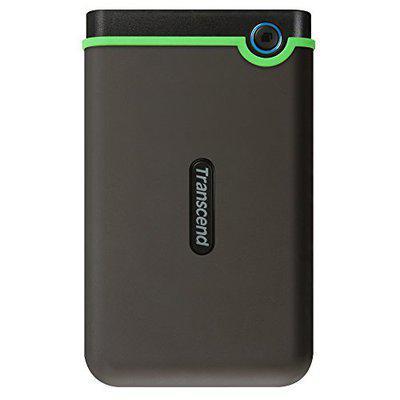 Transcend 500GB StoreJet 25M3 USB3.1 Slim Portable Hard Drive Shock-Resistant