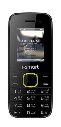 Ismart IS-100L-Selfie-Black-Yellow Mobiles Phone  Mobiles  phone  Basic Mobile Phones Dual Sim Mobile Cheap Mobile Phones Cell phone