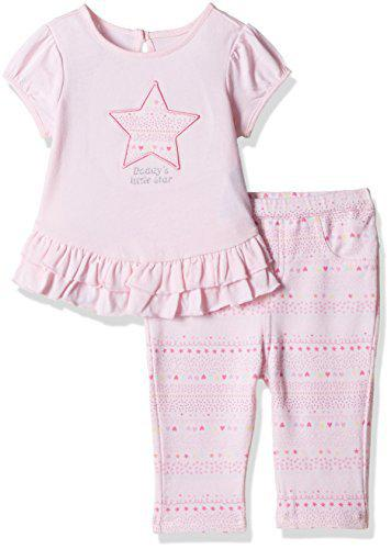 The Children's Place Baby Girls' Clothing Set (2070200_Shell_3-6 Months)
