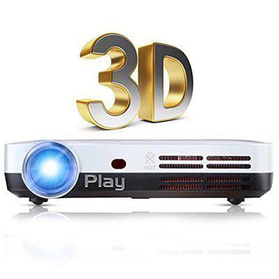 PLAY 3D (4K) Ultra HD Projector with DLP Technology and Quad Core Processor