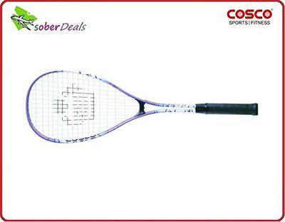 Original COSCO LST-125 Aluminium Squash Racket, PU Grip at Best Price @ fair Online Shopping...