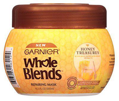 Garnier Whole Blends Mask Honey Treasures 10.1 Ounce Jar (300Ml) (2 Pack)