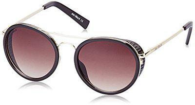 Joe Black Gradient Round Unisex Sunglasses  JB817C152Brown Color