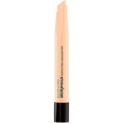 Maybelline Brow Precise Perfecting Eyebrow Highlighter, Medium, 0.04 oz.