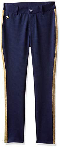Tommy Hilfiger Girls' Trousers (A6CCN0098_Medieval Blue-Pt_8)