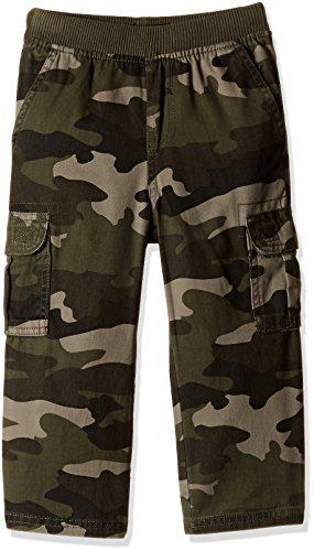 The Children's Place Boys' Trousers (2008355G8_Olive Camo_5Y)