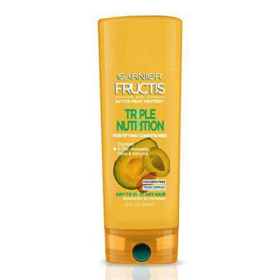 Garnier Fructis Triple Nutrition Conditioner, Dry to Very Dry Hair, 12 fl. oz.