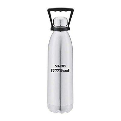Vinod Classic Stainless Steel Thermos Water Bottle (1.5 L, Multicolour)