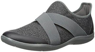 Crocs Women's Swiftwater Cross-strap Static Flat, Slate Grey, 10 M Us