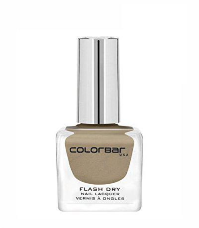 Colorbar CFD211 Flash Dry Nail Lacquer, Cappuccino Cup 211, 12ml