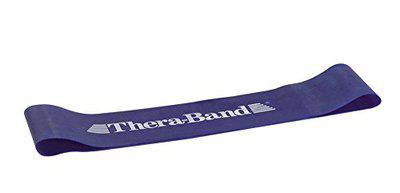 TheraBand Professional Latex Resistance Band Loop For Physical Therapy, Leg Exercise, Pilates, Assorted Resistances & Sizes