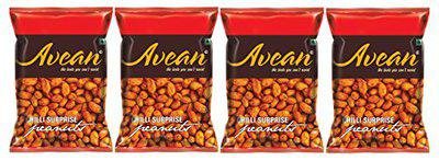 AVEAN Chili Surprise Peanuts -Combo Pack of 4 (125 Grams)