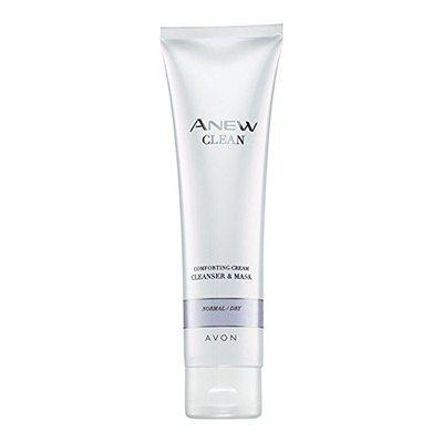 Avon Anew Clean - Comforting Cream Cleanser & Mask Normal/Dry - 150Ml Tube By Anew Clean