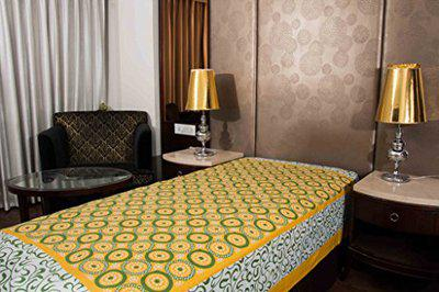 Indian Royal Fashion Jaipuri Art 100% Cotton 1 Single BedSheet Without Pillow Covers (Size :-60X90 Inches 152x229 cm)