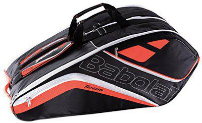 Babolat X 12 Team Line Tennis Kitbag (Fluorescent Red)