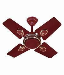 Surya Sparrow- Dx Ceiling Fan Brown