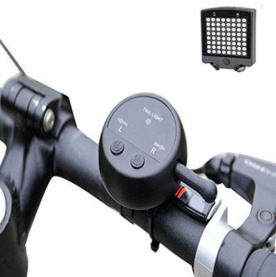 Futaba 64 LED Laser Bicycle Rear Rechargeable Tail Light