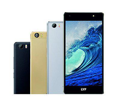 LYF WATER F1S - Dual Sim 4G VoLTE+ (Gold, 3GB RAM, 32GB ROM)
