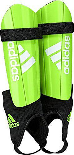 Adidas AZ9857S Shin Guard, Boy's Small (Soler Green/Black)