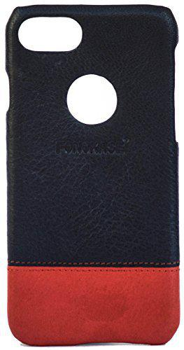 Fonokase Case for Apple iPhone 6 Plus Signature Leather Wrap Series Exclusive Limited - Blue & Red